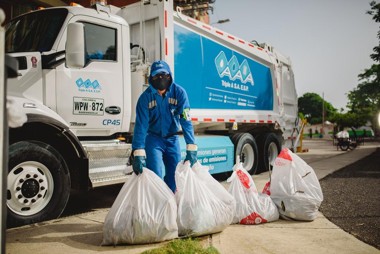 Triple A optimiza su operación de aseo en 9 sectores de la ciudad de Barranquilla – @SomosTripleA