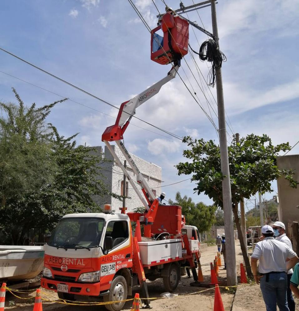 Trabajos de reposición de redes en el circuito Atlántico – @aire_energia