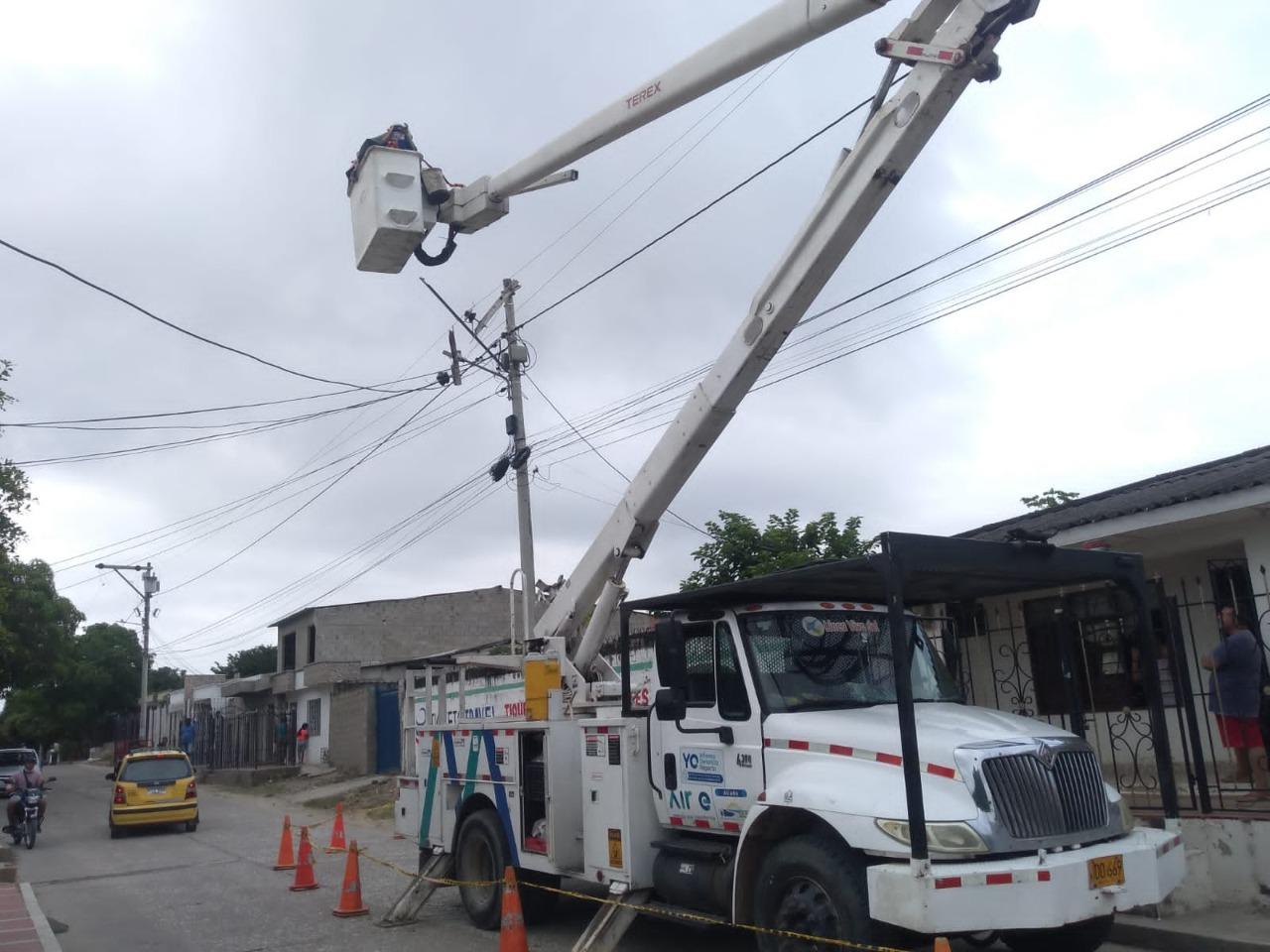 Trabajos de mejora de redes eléctricas en Los Andes y El Silencio este miércoles – @aire_energia