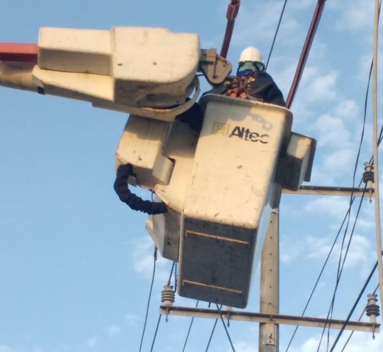 Este miércoles 8 de septiembre Adecuación de redes eléctricas en sectores de Soledad – @Aire_Energia