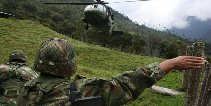 Mueren 5 disidentes de las FARC durante bombardeo en San Vicente del Caguán
