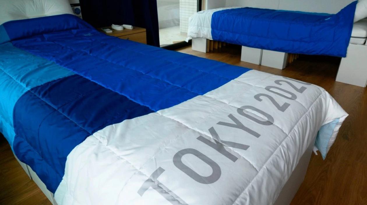 Habitaciones de la Villa Olímpica de Tokio ya están listos y dotados con camas 'antisexo'