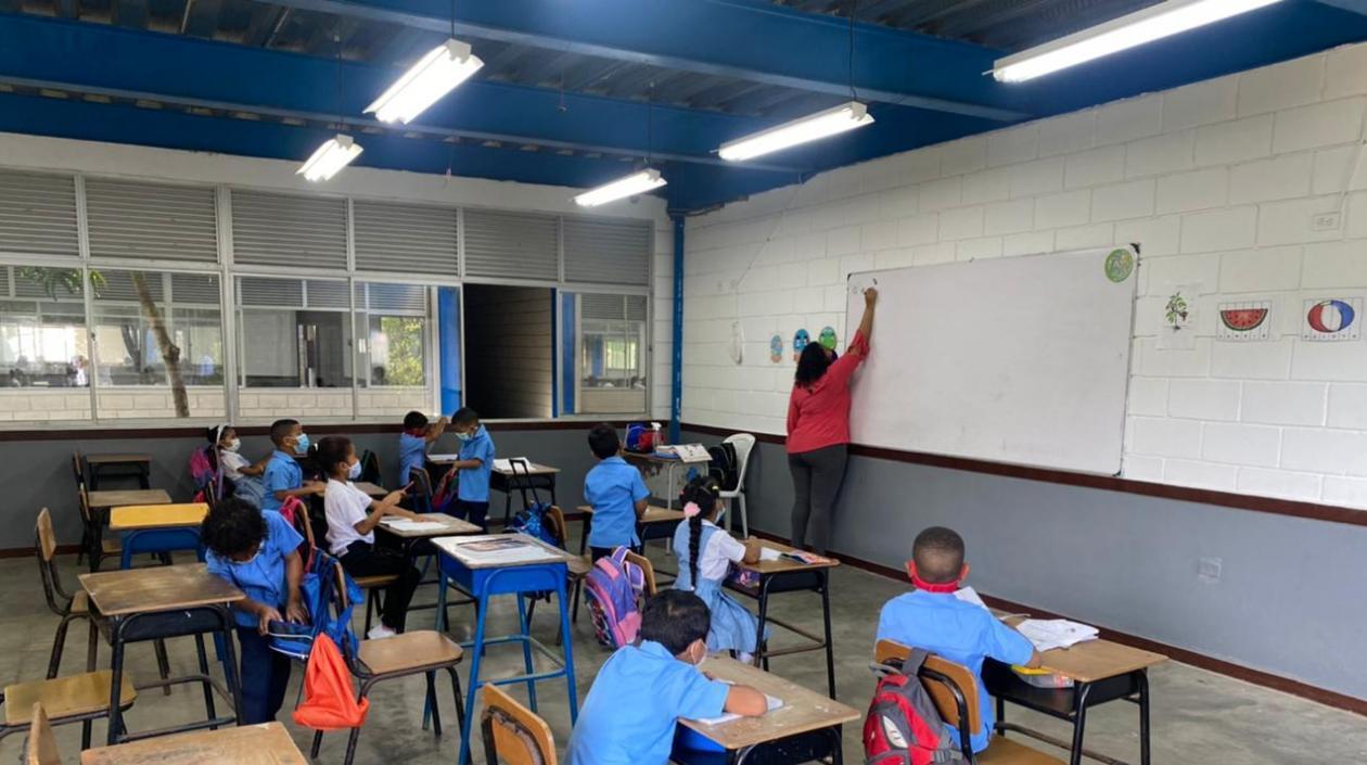 El 9 de agosto a más tardar, todos los colegios de Cartagena entrarán a clases presenciales