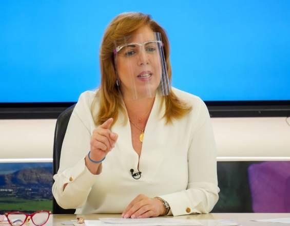 """Clara Luz Roldán: """"No puedo cerrar Cali porque Jorge Iván no me deja"""""""