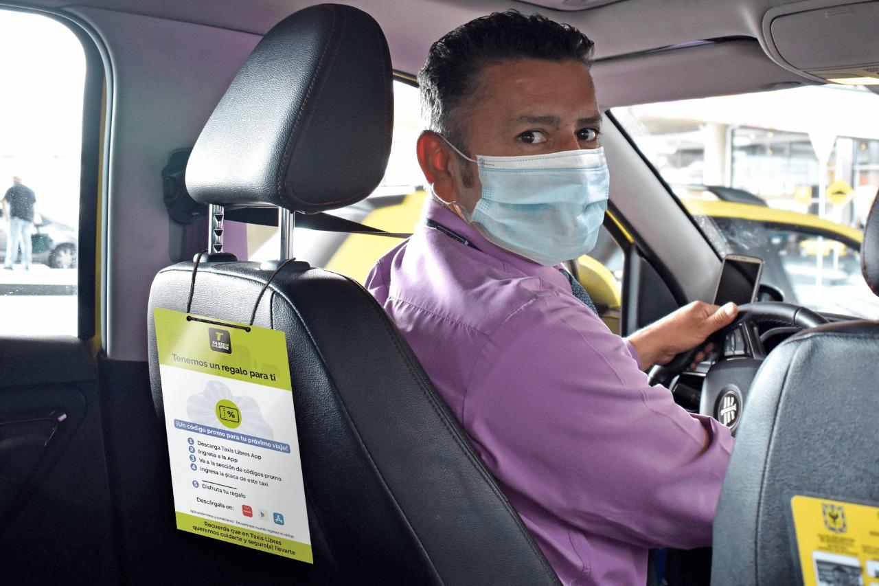 Embajadores Taxis Libres: la campaña que ayuda a conductores con bonos para mercado y a viajeros con descuentos y viajes gratis