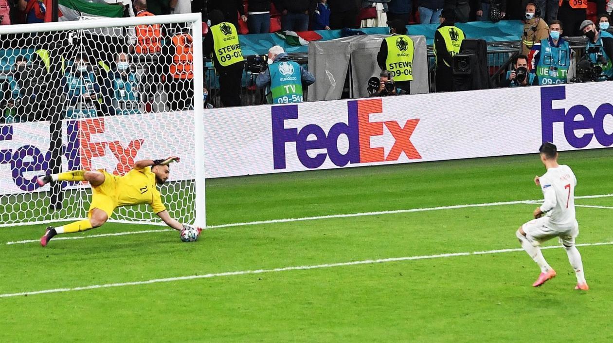 Italia, finalista de la Euro 2020 tras vencer a España en la tanda de penales