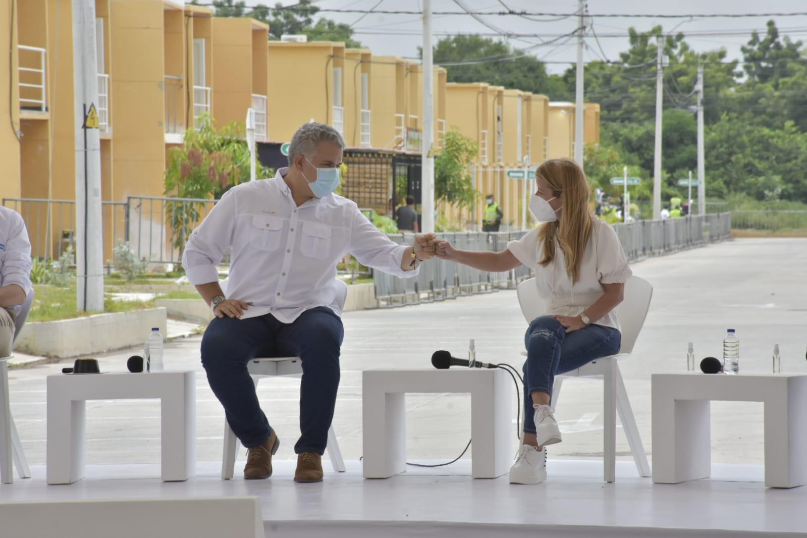 En Sabanagrande, Duque entregó el subsidio 21 mil de 'Mi Casa Ya' – @gobatlantico