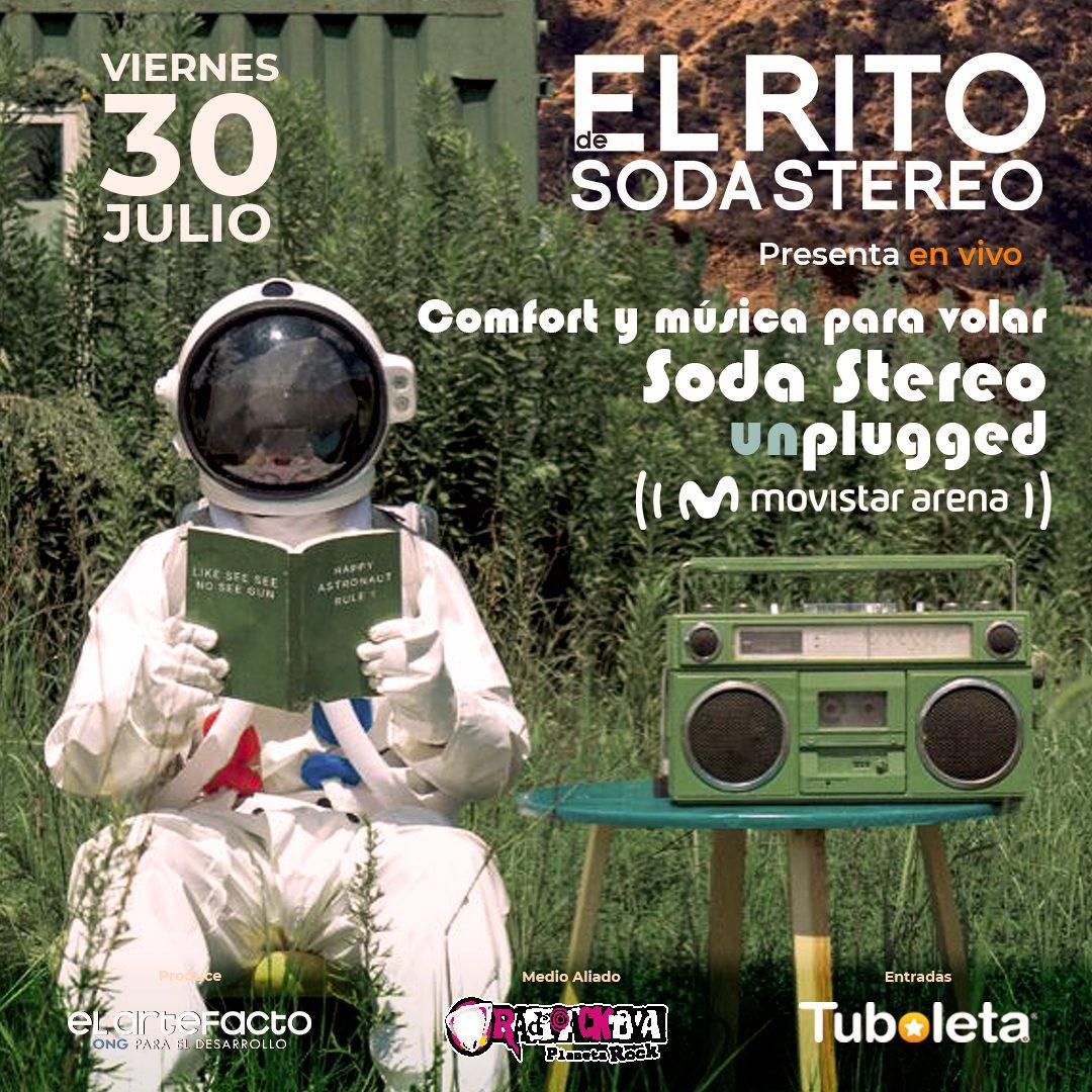 El Rito de Soda Stereo presenta en vivo: Confort y música para volar   Soda Stereo Unplugged  