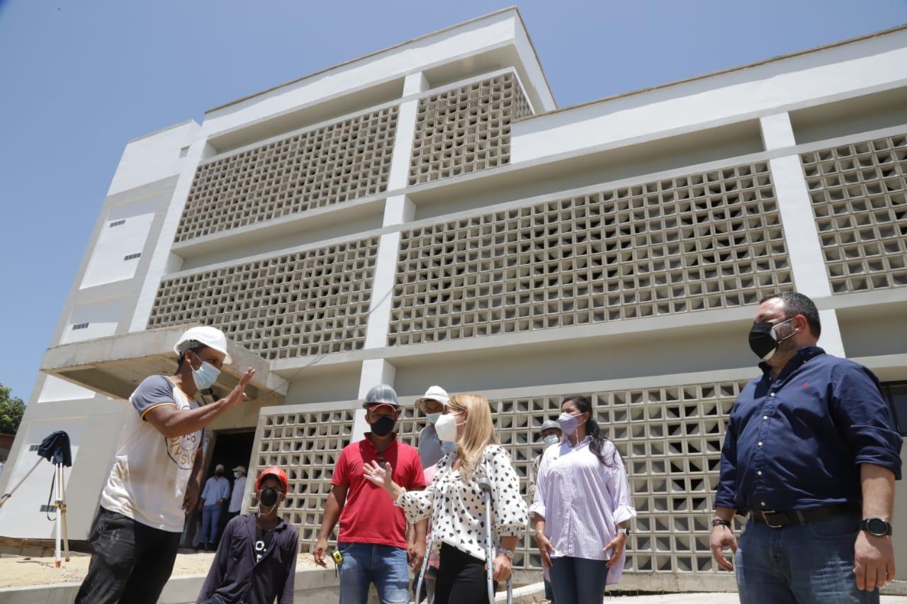 Obras de nueva sede de Fiscalía en Soledad presentan avances del 78%