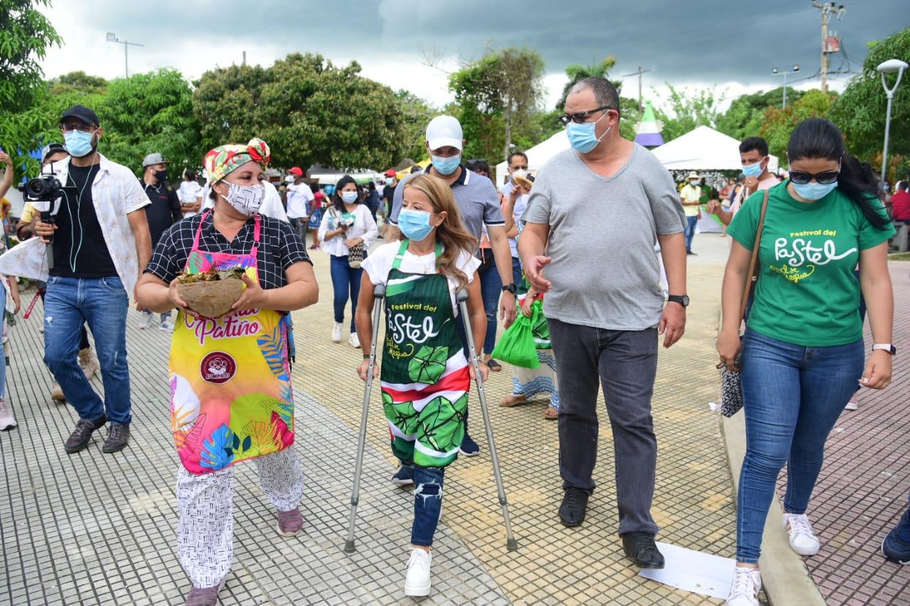 Matronas de Pital de Megua vendieron 21 mil unidades en el piloto presencial del Festival del Pastel