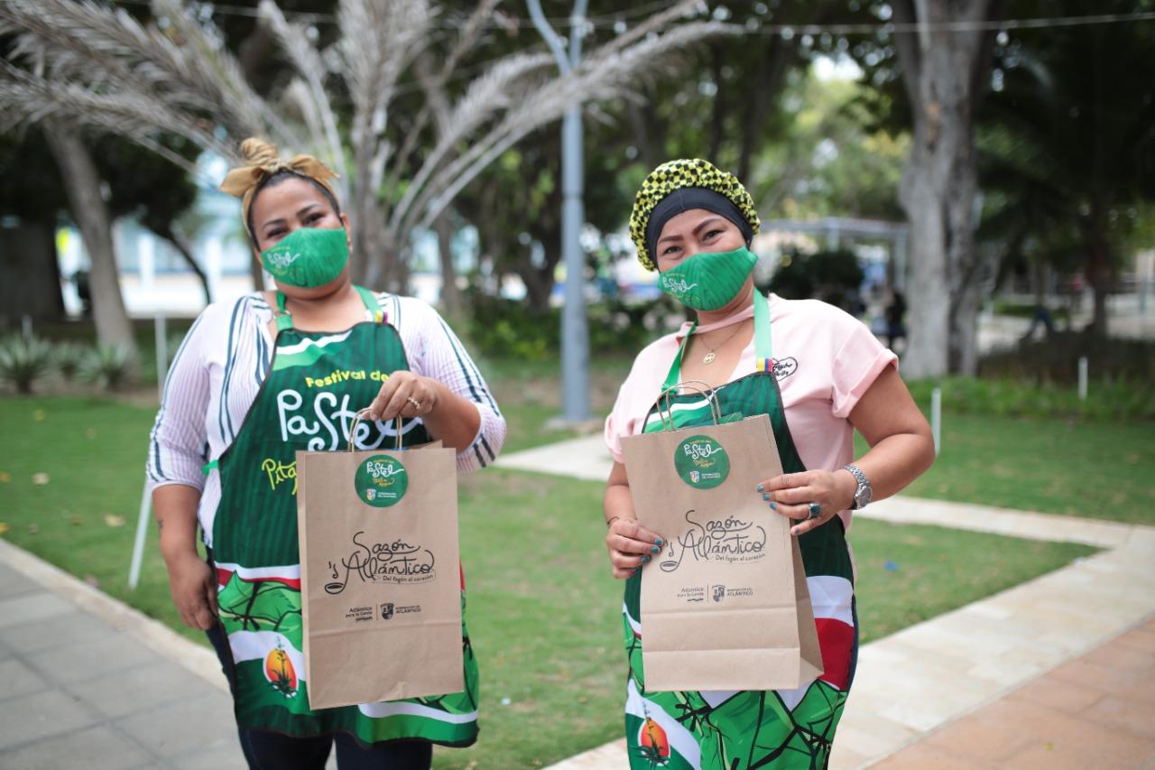 Matronas de Pital de Megua vendieron 2 mil pasteles en el festival virtual de 'Sazón Atlántico' – @Gobatlantico