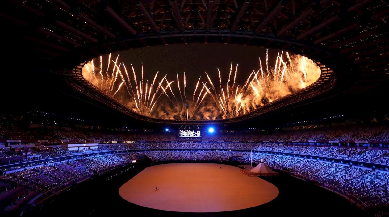 Reviva las mejores imágenes de la inauguración de los Juegos Olímpicos de Tokio