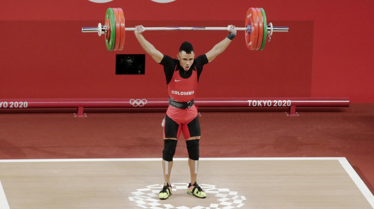 Bañado en Plata!!! Luis Mosquera obtuvo la primera medalla de Colombia en Tokio 2021
