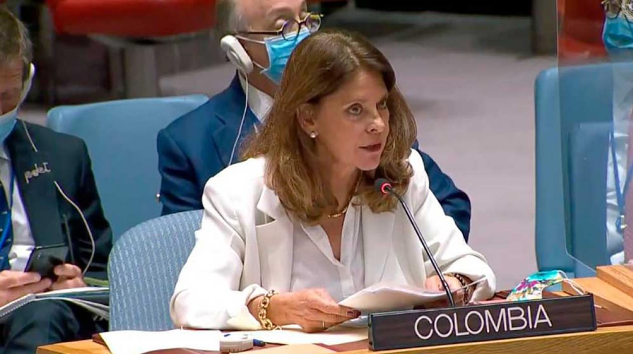 Marta Lucía Ramírez: «Tenemos un compromiso indeclinable con la paz de Colombia»