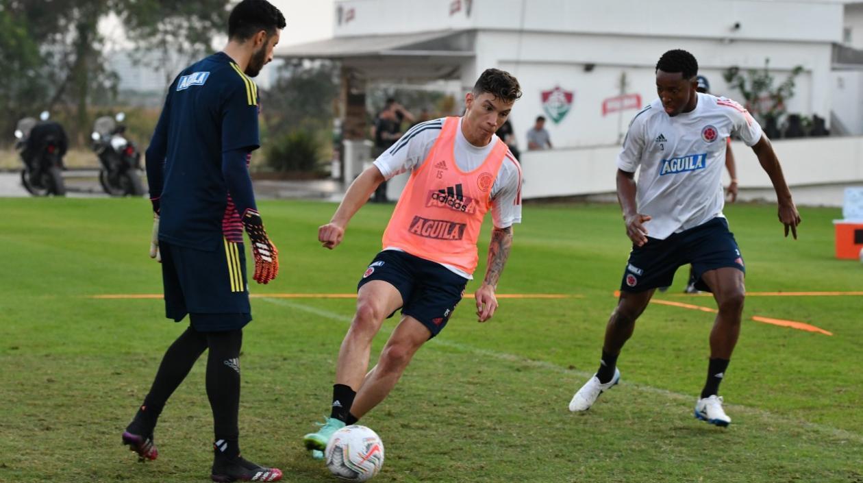 Matheus Uribe no podrá continuar con la Selección Colombia por lesión