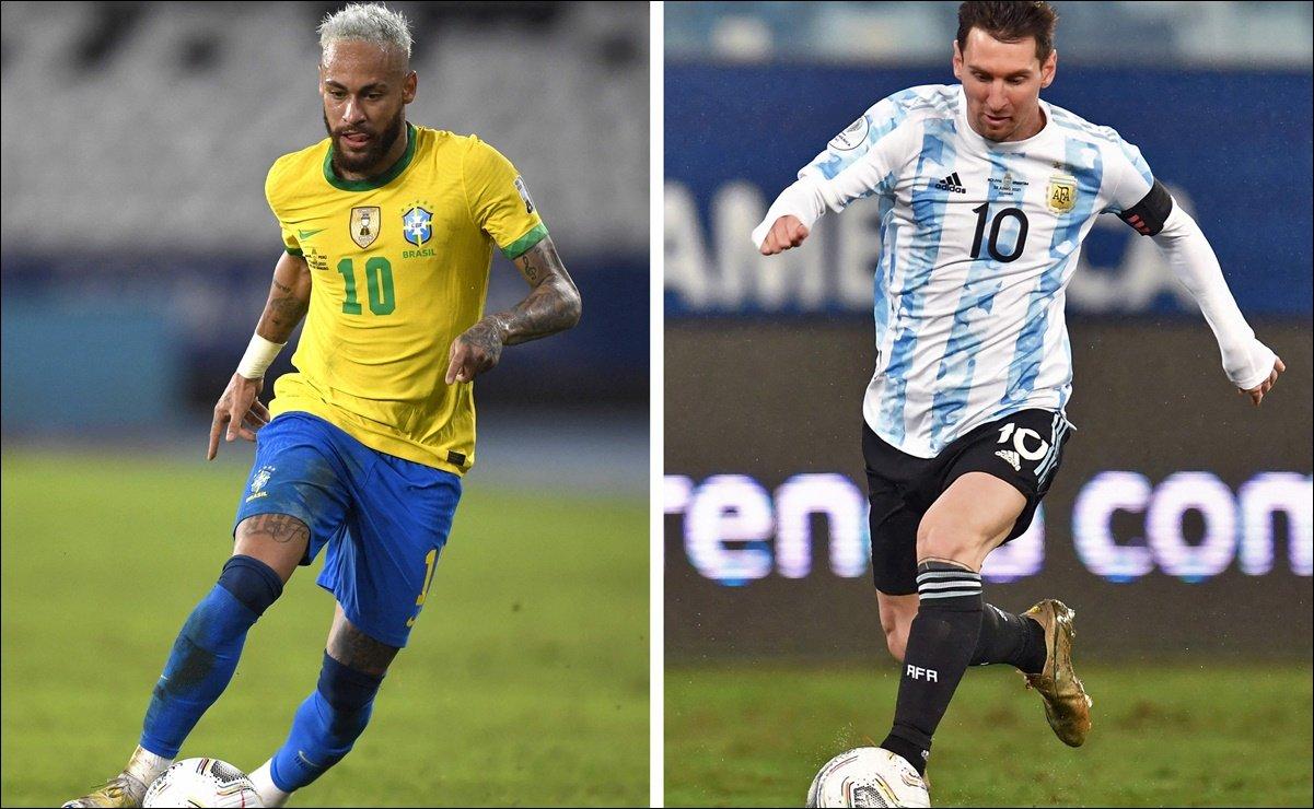Brasil vs Argentina, el 'súperclásico' sudamericano que definirá  al campeón de Copa América