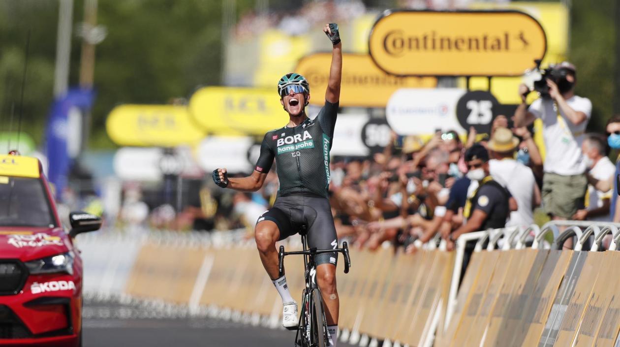 Nills Politt ganó la etapa número 12 en el Tour, al coronar la escapada