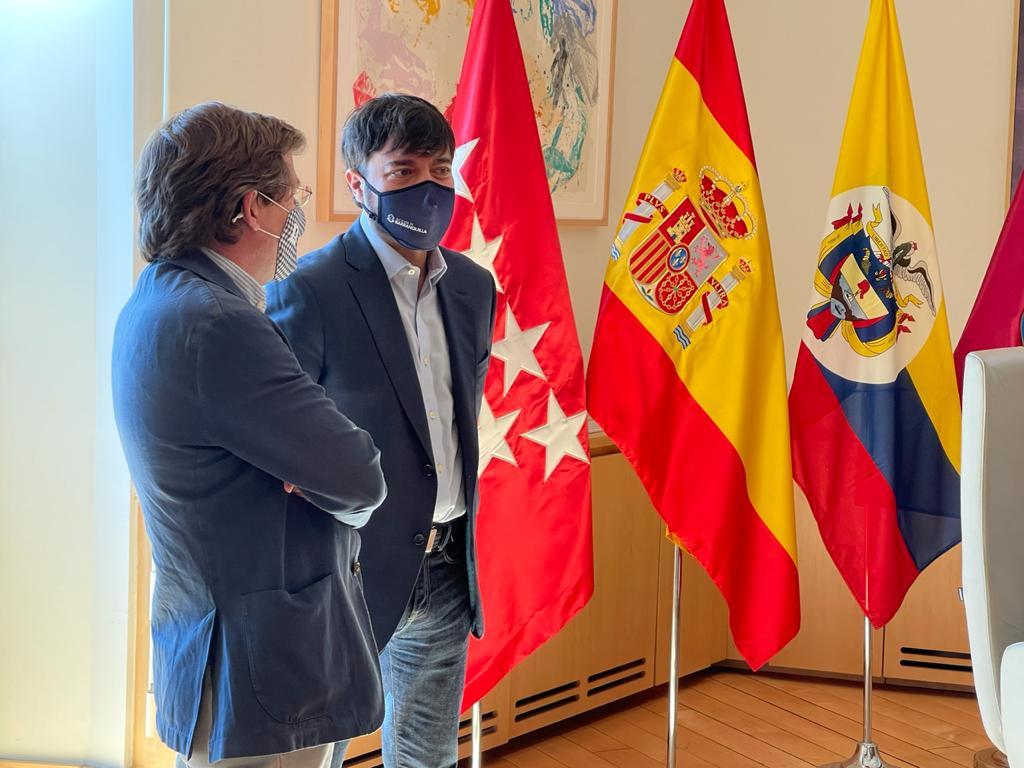 Madrid y Barranquilla consolidan lazos tras reunión de alcaldes – @alcaldiabquilla