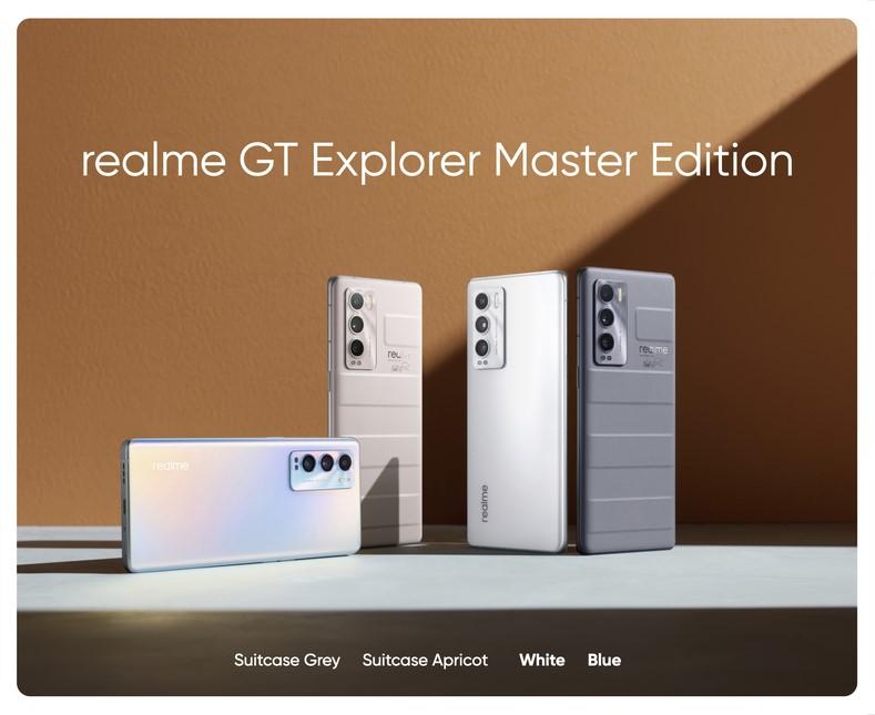 Realme presenta oficialmente la Serie GT Master Edition