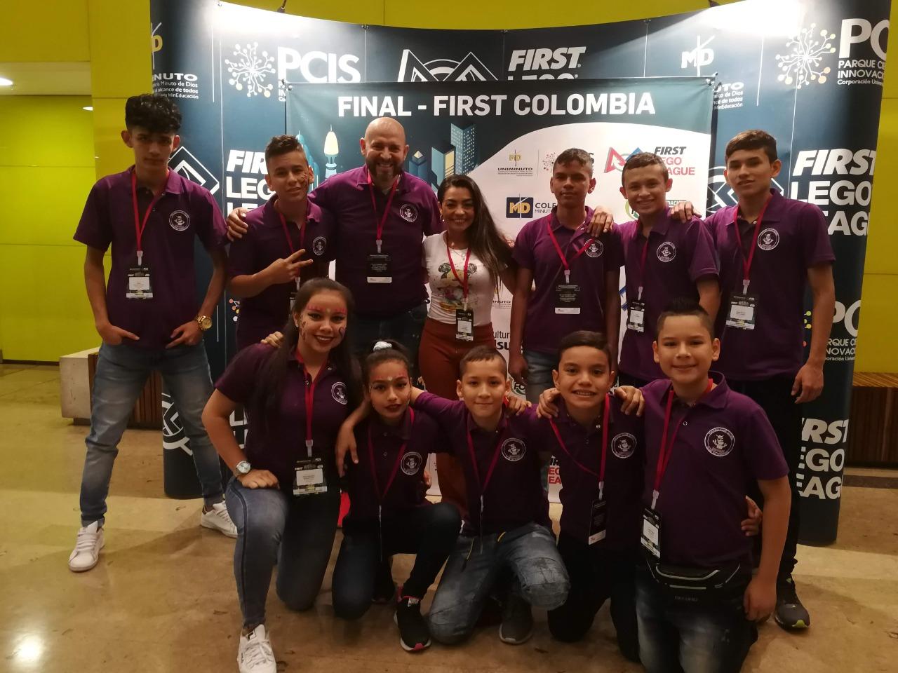 Santander, ganador de First Lego League 2020 – 2021