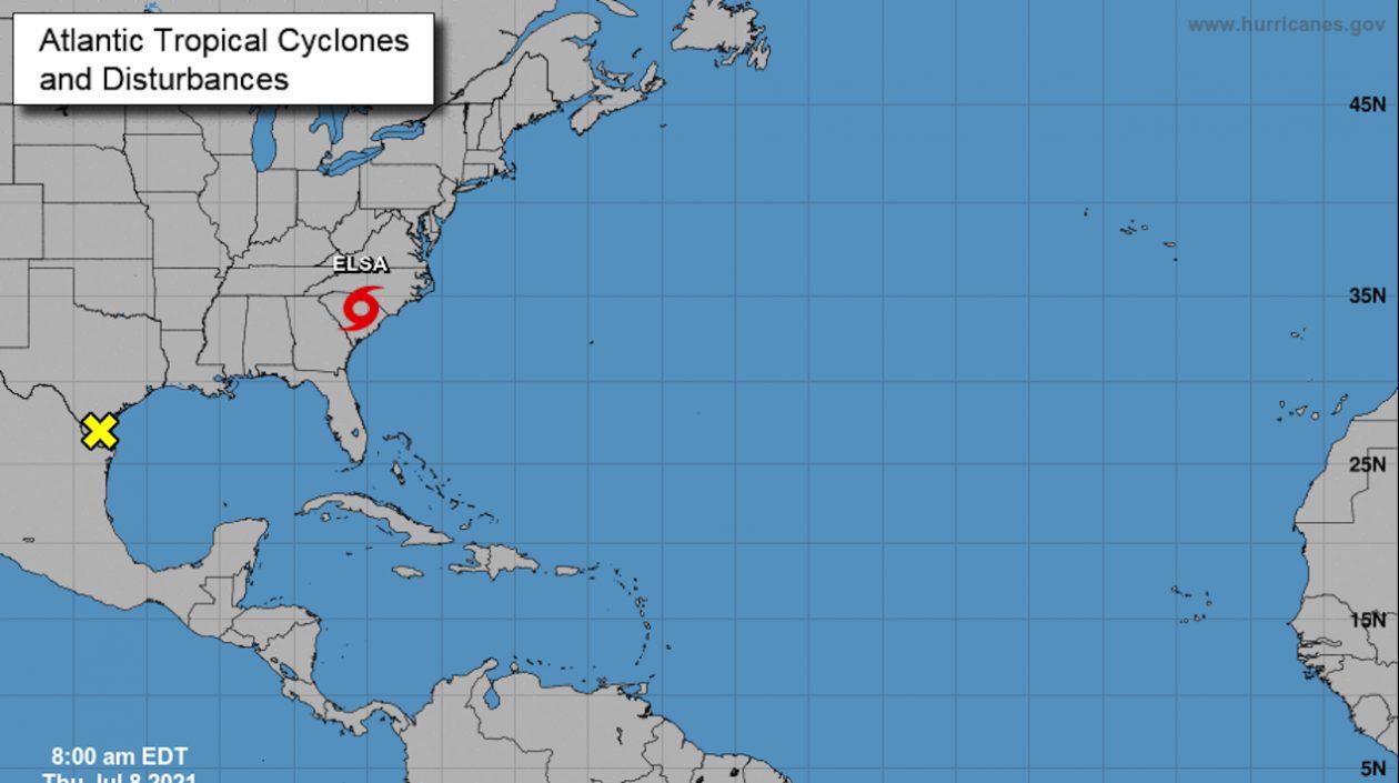 Lluvias torrenciales deja la tormenta 'Elsa' en su paso por el sureste de Estados Unidos