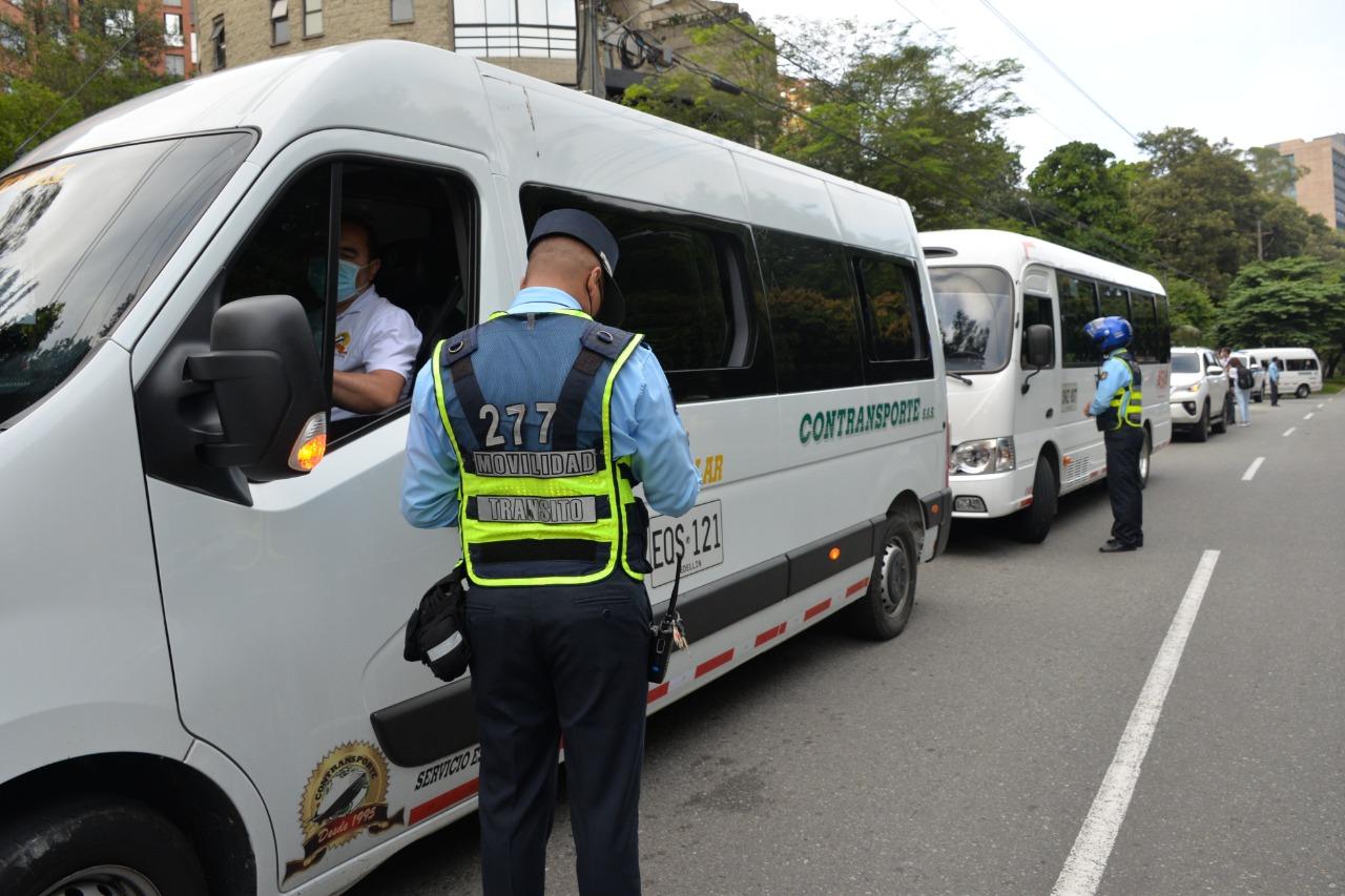 La Alcaldía de Medellín hace recomendaciones para una movilidad segura en el transporte escolar