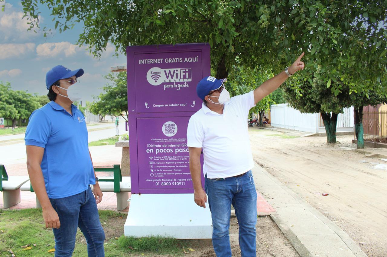 Gobernación del Atlántico avanza en diagnóstico de zonas wifi para llevar conectividad a los municipios