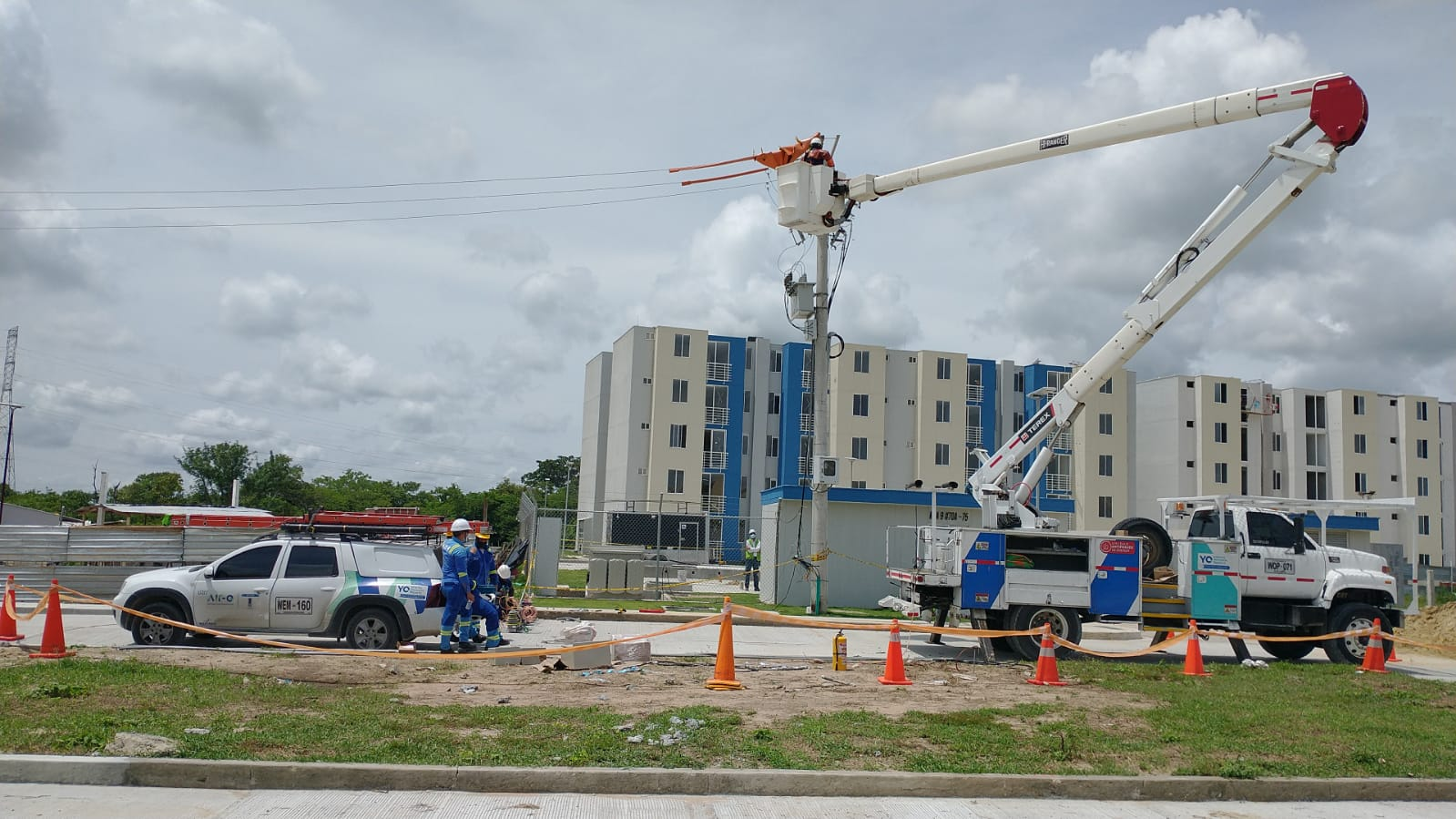 Mejora de redes eléctricas en sectores de El Carmen y Los Pinos este viernes