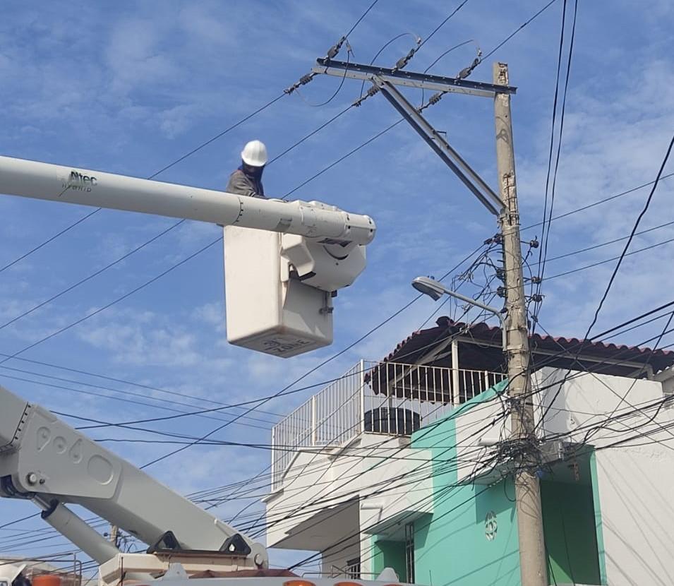 Este miércoles 1 de septiembre Adecuación de redes eléctricas en La Pradera, Recreo y El Rosario – @Aire_Energia