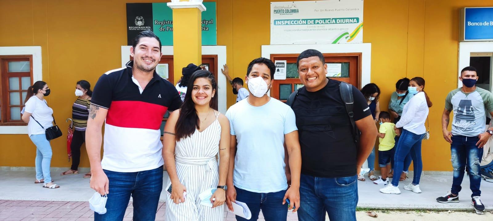 Jovenes del Partido ASI Atlántico fueron inscritos de manera oficial para el Concejo de Juventudes