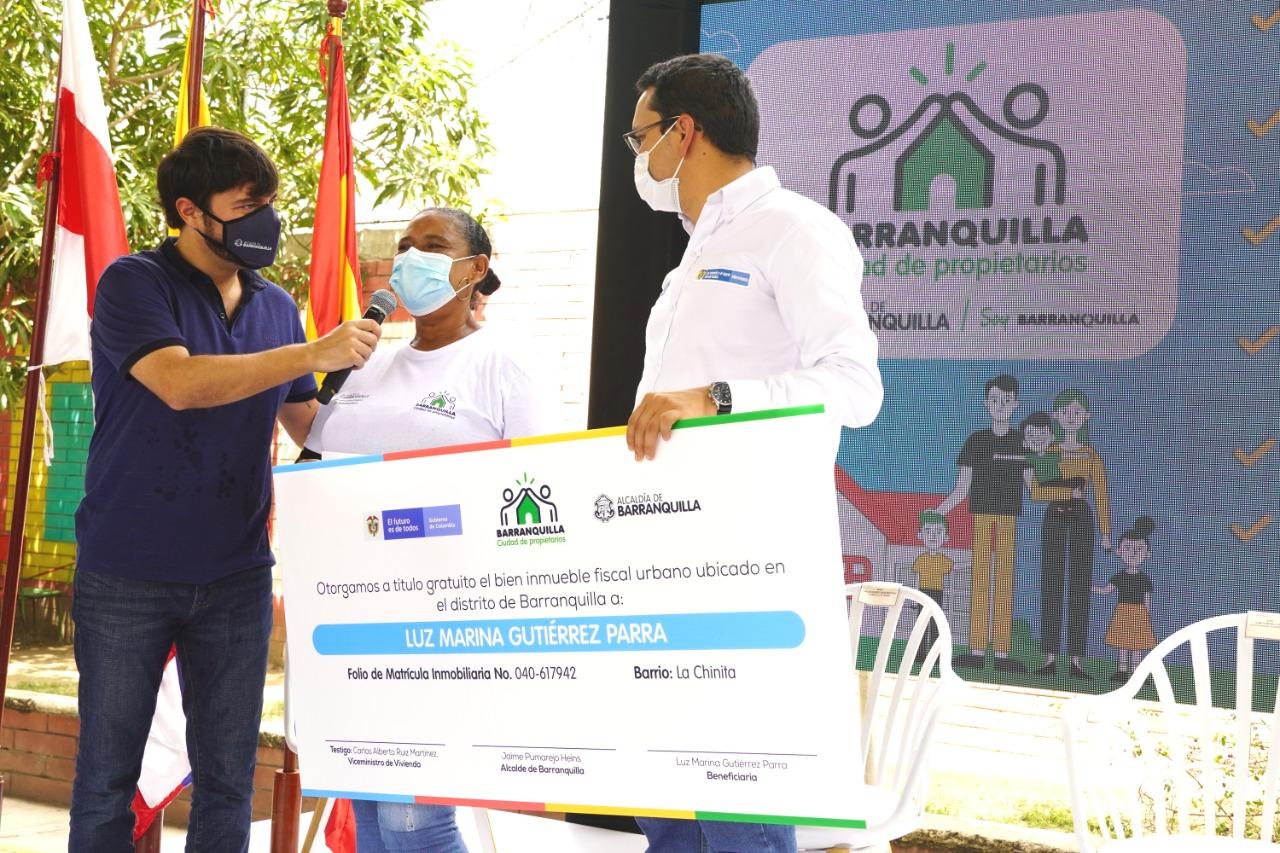 """Viceministro de Vivienda: """"Barranquilla es campeona nacional en programa de vivienda"""" – @alcaldiabquilla"""