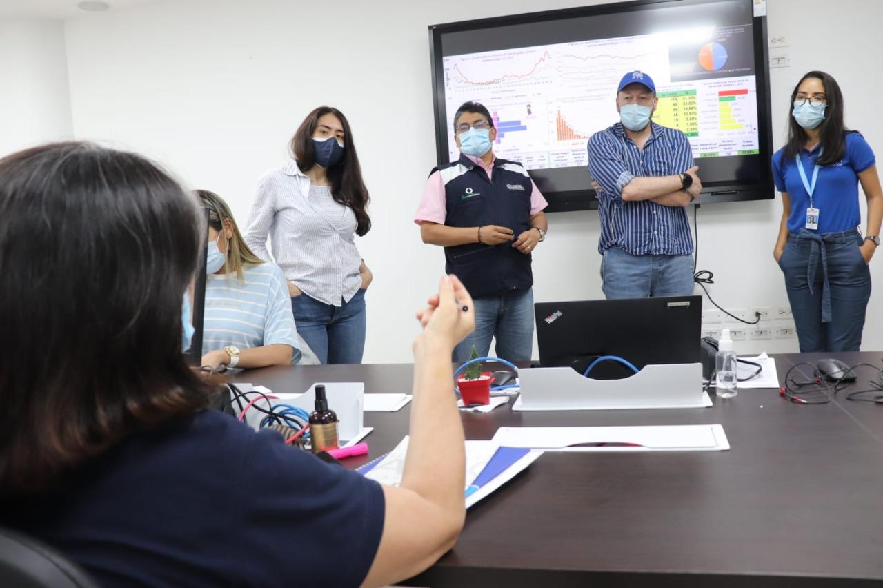 Delegados de la OIM destacaron operatividad de la Sala de Análisis de Riesgo en Salud de Barranquilla – @alcaldiabquilla