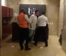 Turista en Cartagena arremete contra vigilantes de edificio: «Malparidos todos, costeños de mierda»