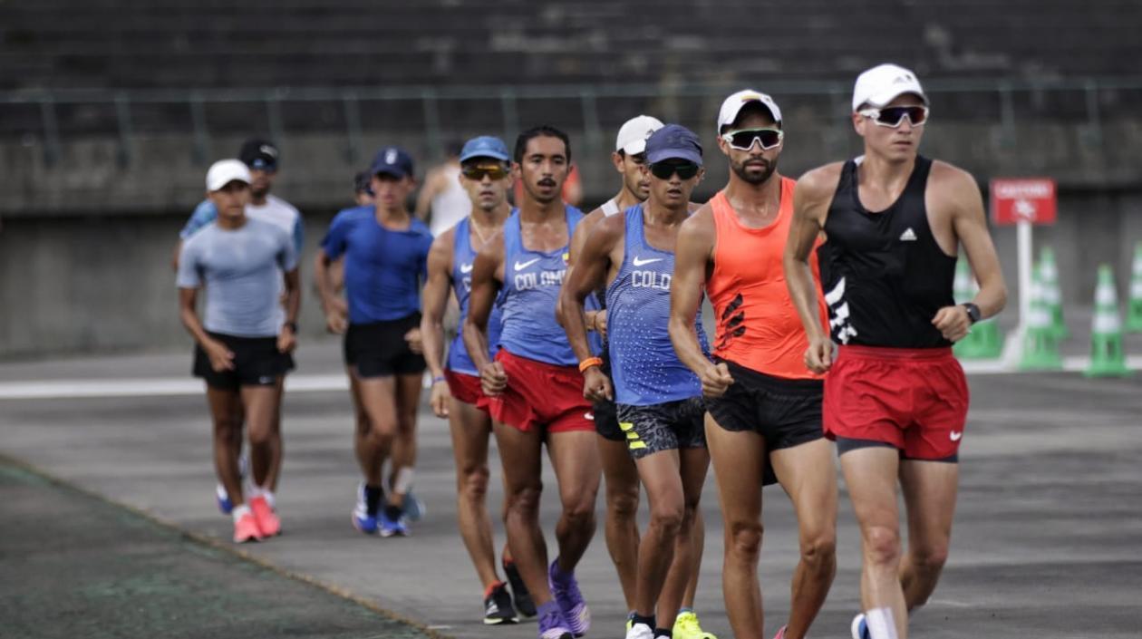 Equipo colombiano de marcha atlética, listo para buscar medallas en Tokio 2020