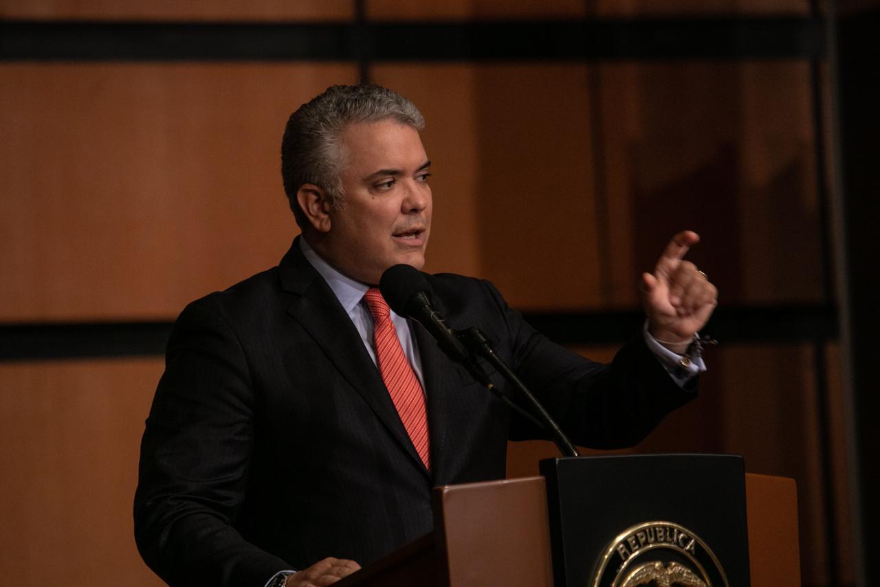 Duque insiste en que Maduro debe dejar el poder y convocar elecciones en Venezuela
