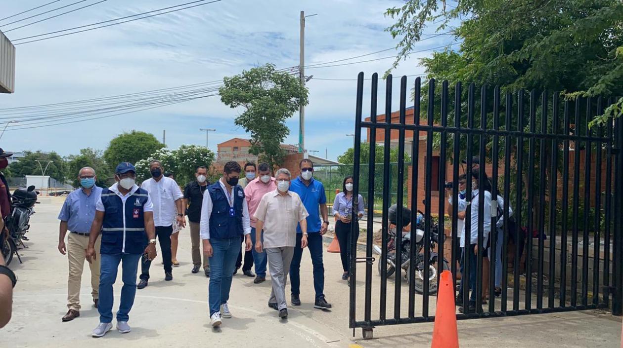 """Estudiantes de la Universidad del Atlántico desmontaron """"campamento"""" – @udeatlantico"""