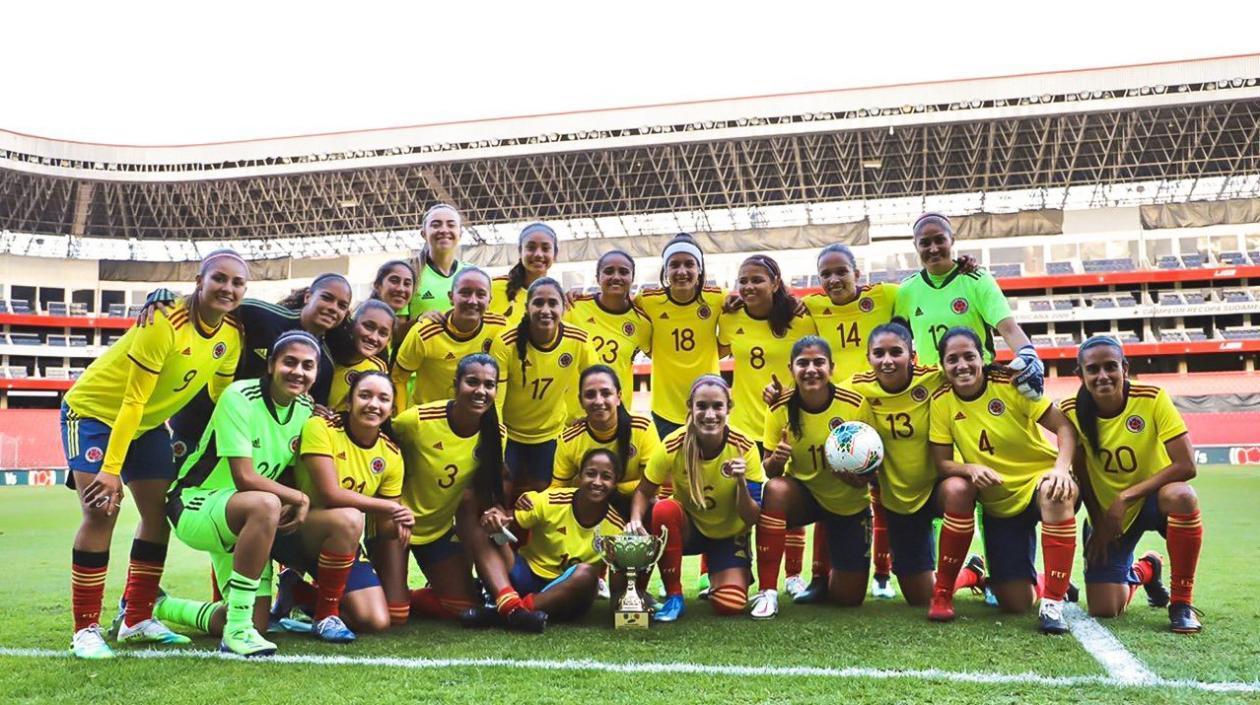 Selección Colombia femenina jugará amistoso de preparación ante México