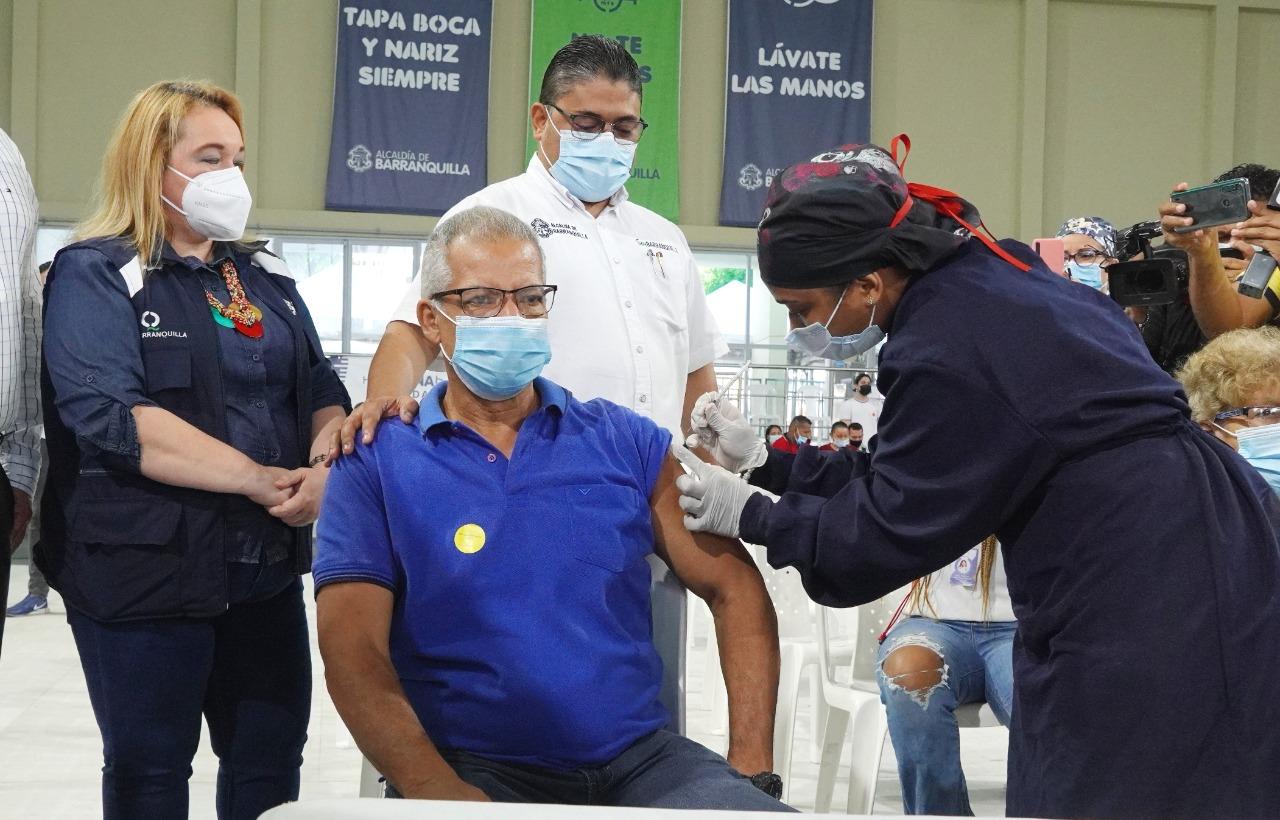 Barranquilla superó el millón de dosis aplicadas de la vacuna contra el COVID-19