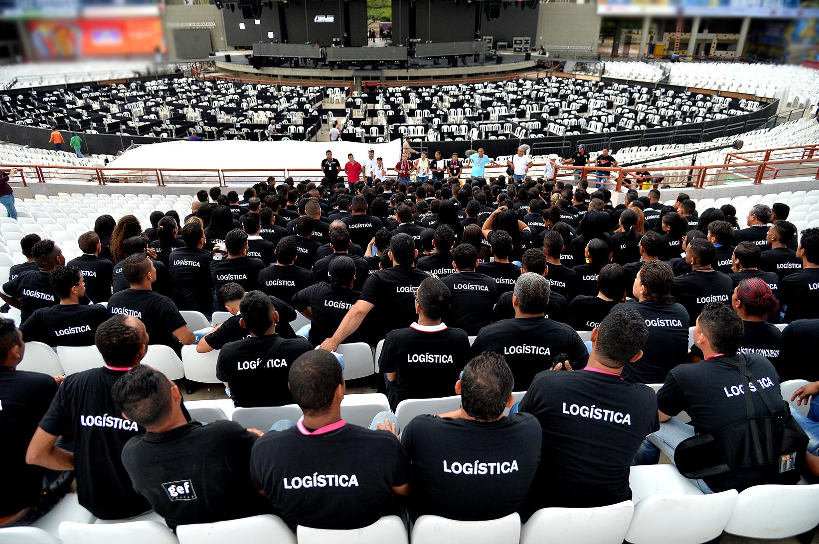 Inscritos 1.036 aspirantes a conformar el equipo de logística del 54° Festival de la Leyenda Vallenata
