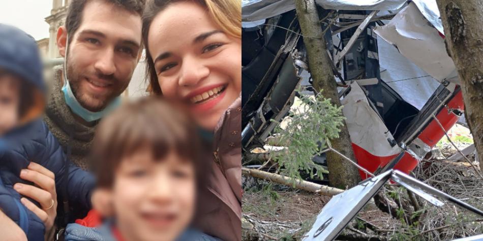 Niño que cae de un teleférico en Italia sobrevive