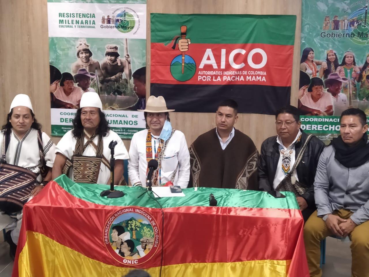 Pueblos y naciones indígenas de Colombia nuevamente en la mira de los actores armados, por incumplimiento de los acuerdos de Paz – #SOSPueblosEnPeligro