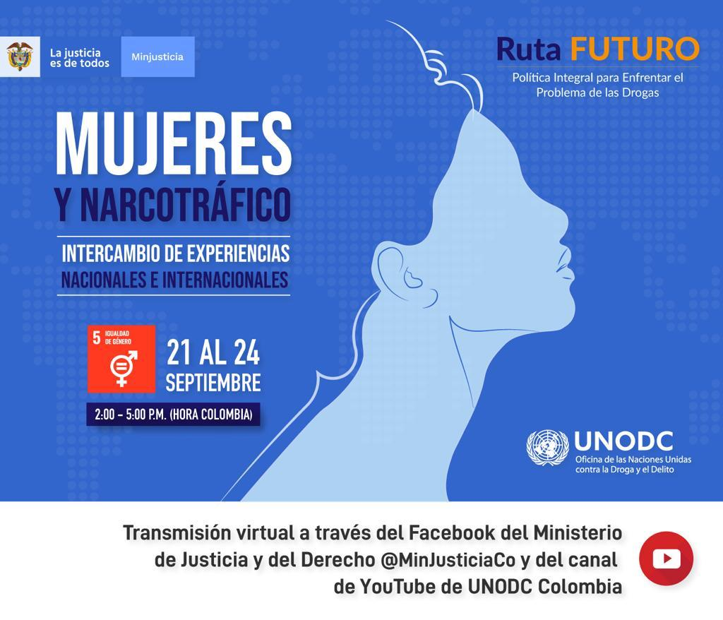 Encuentro de experiencias nacionales e internacionales sobre  mujeres y narcotráfico