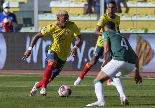 Colombia igualó de visitante ante Bolivia por Eliminatorias