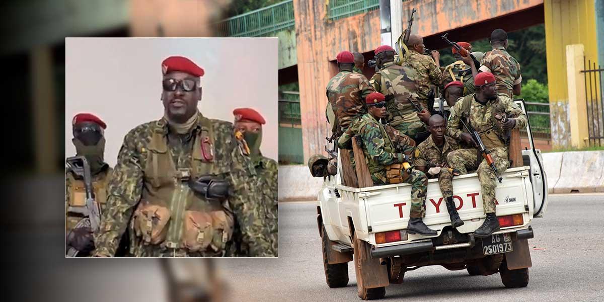 Golpe de estado en Guinea, militares capturan al presidente