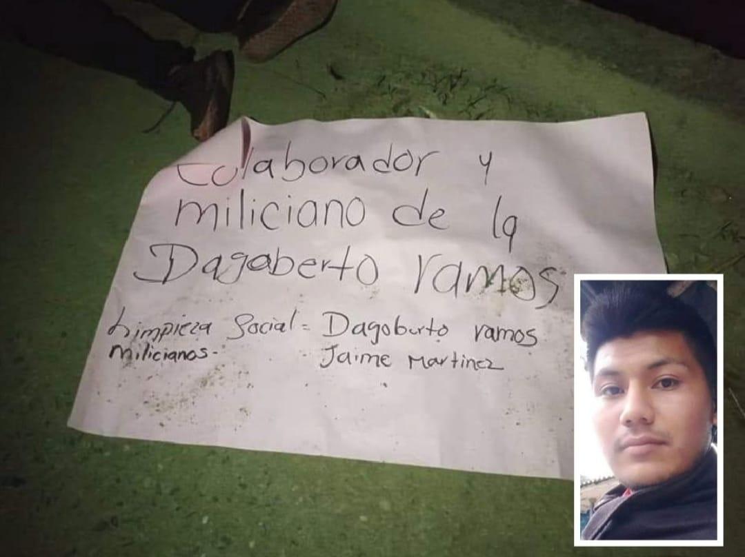 Un joven indígena fue asesinado en la zona rural de Caldono