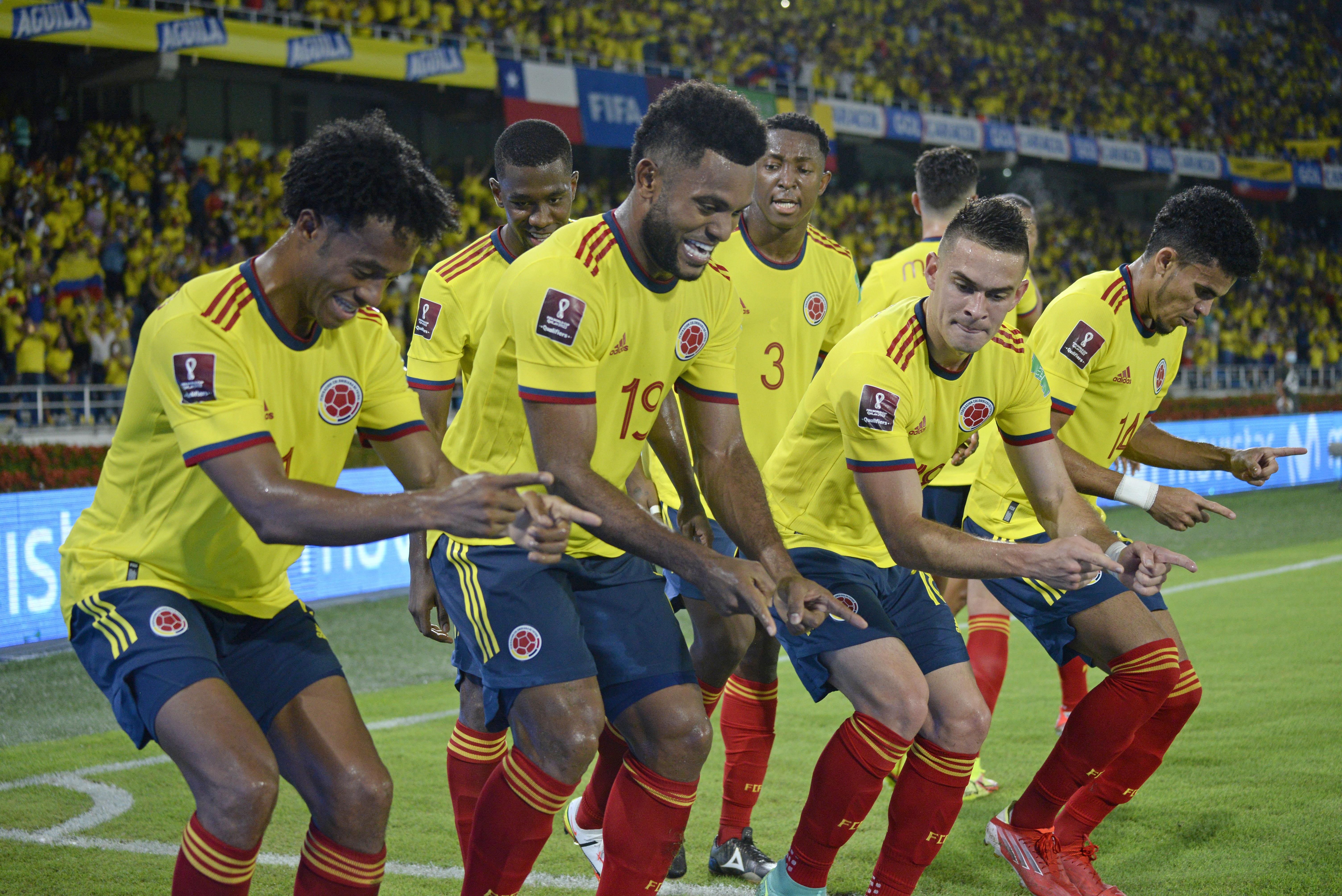 Colombia brilla en el Metropolitano y le gana a Chile por Eliminatorias