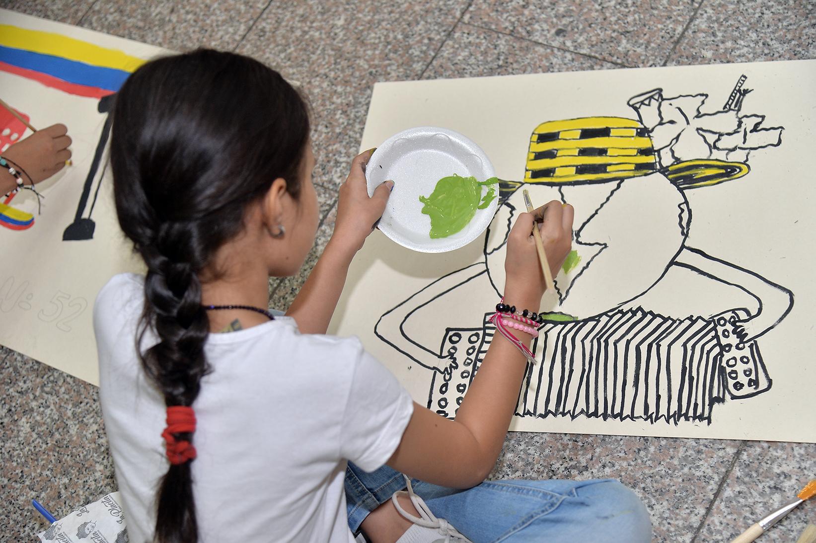 Abiertas las inscripciones para el concurso 'Los niños pintan el Festival Vallenato' – @FESVALLENATO