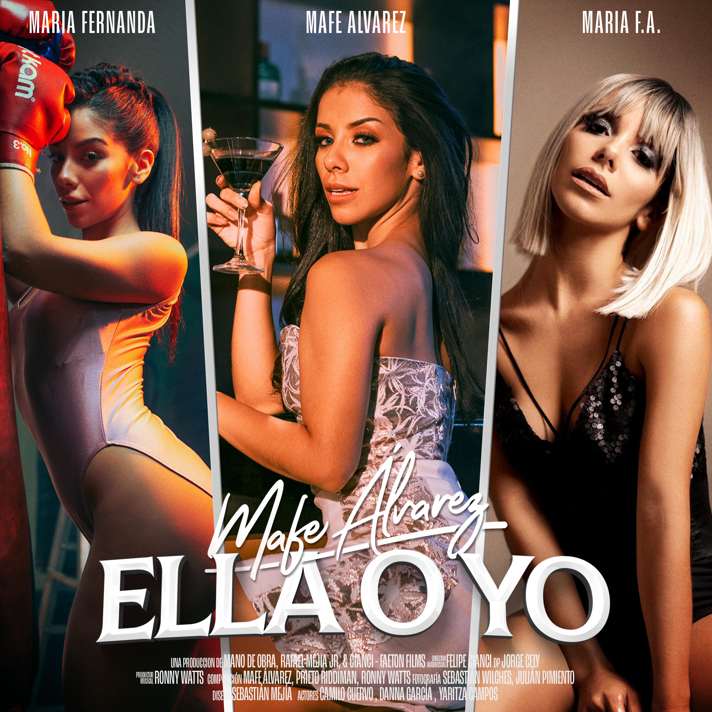 Mafe Álvarez regresa con «ella o yo» su nuevo lanzamiento musical