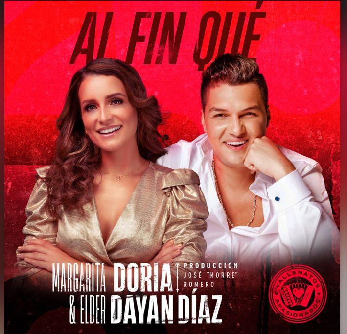 """Margarita Doria y Elder Dayan Díaz presentan """"al fin qué"""""""