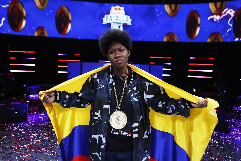 Marithea se convierte en la primer mujer en ganar la Final Nacional de Red Bull Batalla Colombia
